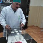 Отработка эндоскопического шва на «коробочном» тренажере