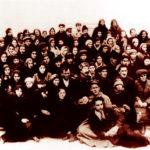 Первый выпуск ДМИ, в центре – директор О. А. Байрашевский, 1937 г