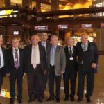 Профессор М.Д.Дибиров с дагестанскими коллегами (16 съезд РОЭХ, Москва, 2013)