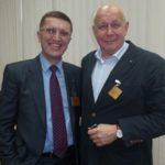 С Президентом (учитель и наставник, проф. С.И.Емельянов, Москва,2013)