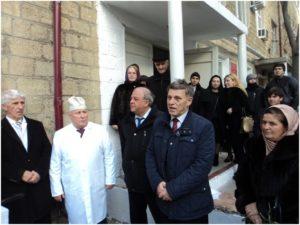 Выступление Министра здравоохранения Республики Дагестан, профессора Ибрагимова Т.И. на открытии мемориальной доски, памяти М.М.Максудова