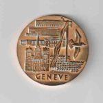 Золотая медаль с выставки в Женеве