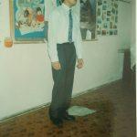 Гражданин Марокко Бен Эль Айфар Мохаммад 1993г. Студенческая весна. Подготовительный факульет.