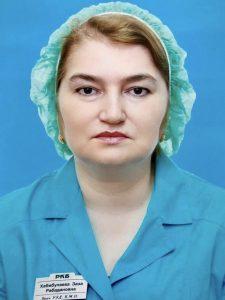 Хабибулаева Заза Рабадановна