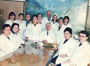 Коллектив кафедры  2002 г.